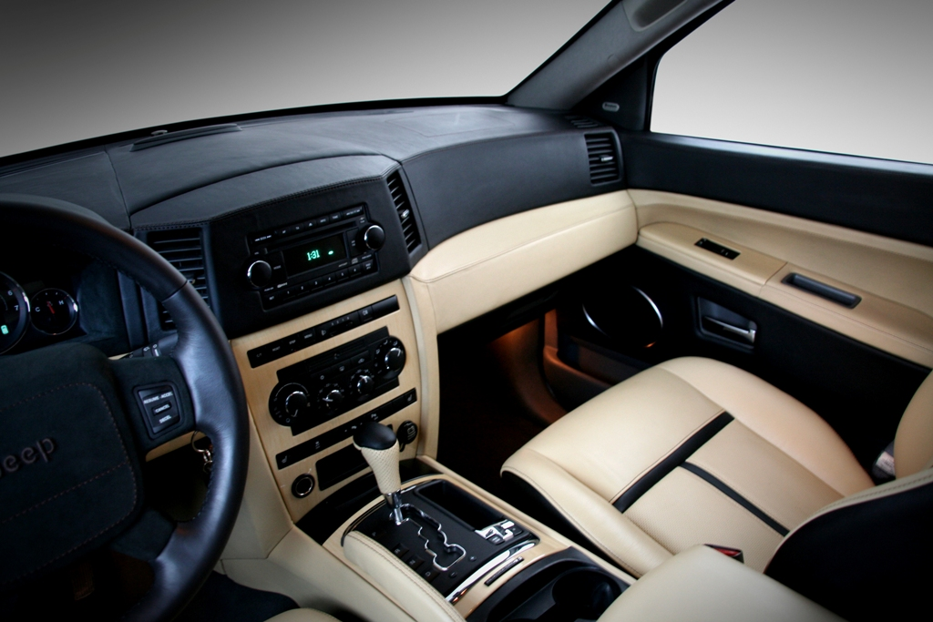 Jeep Grand Cherokee Custom Interior By Carbon Motors