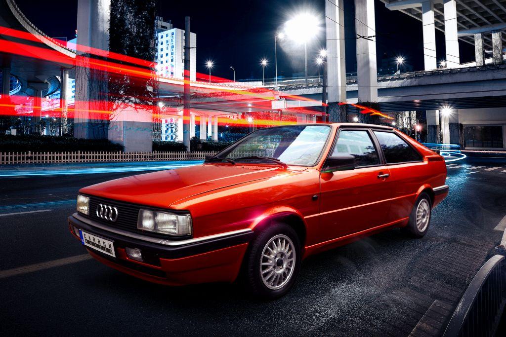 Audi B2 Coupe restomod by Carbon Motors image 03