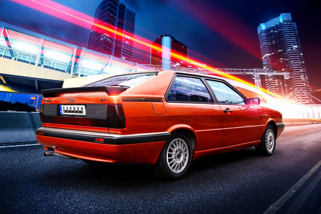 Audi B2 Coupe Restomod By Carbon Motors