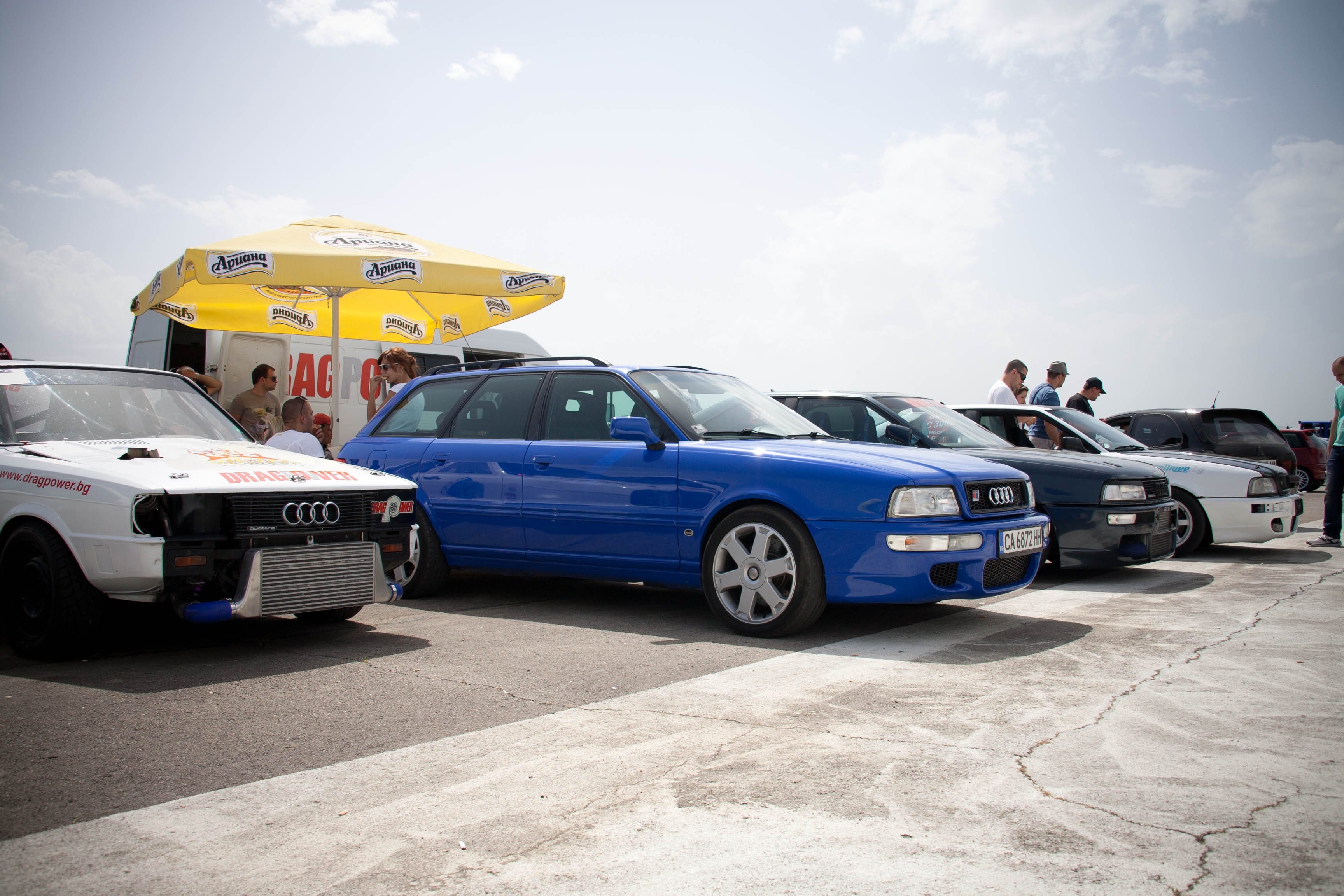 audi drag kosio racing 07