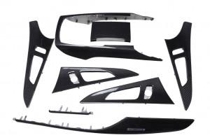 Audi A6 C7 carbon fiber trim
