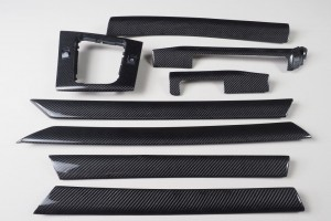 BMW 3 series E46 carbon fiber trim